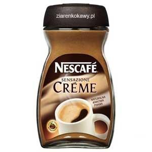 Kawa Nescafe Creme w słoiku