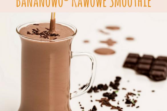 Bananowo- kawowe smoothie