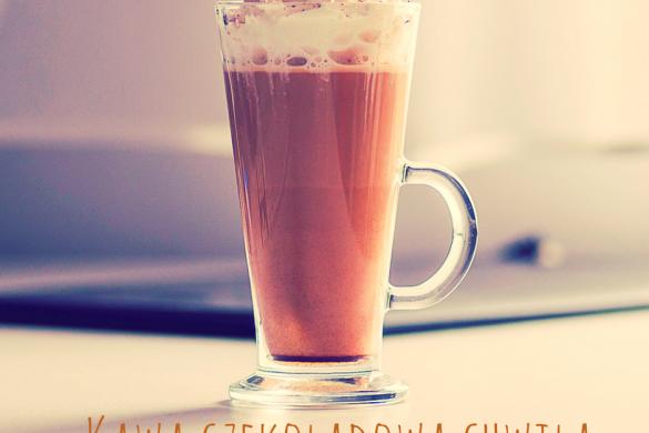 """Kawa """"czekoladowa chwila""""- przepis"""