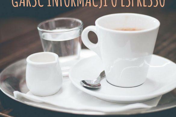 Jak przygotować dobre espresso?