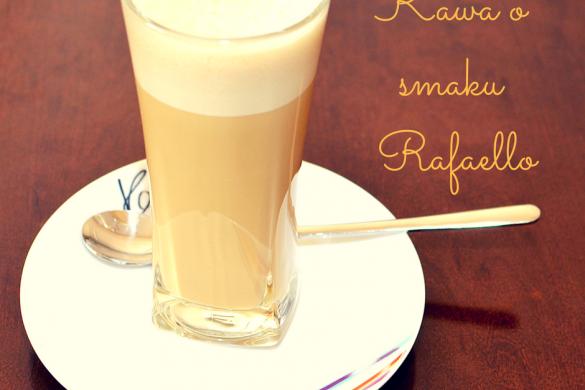 Kawa o smaku Rafaello- przepis