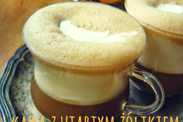 Kawa z utartym żółtkiem- przepis