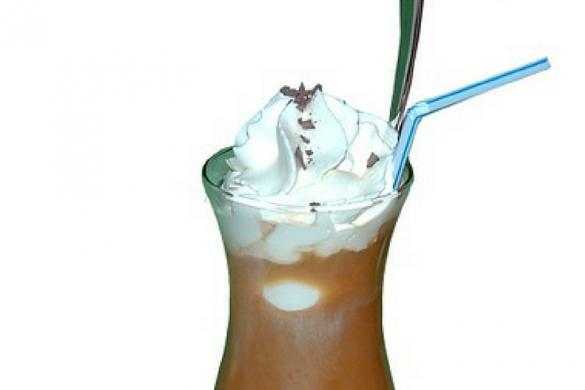 Koktajl kawowo- bananowy
