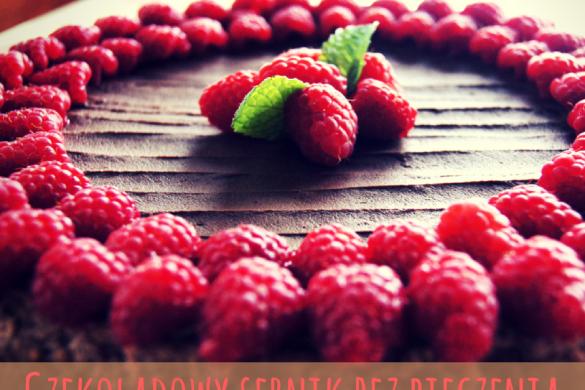 Sernik czekoladowy bez pieczenia – Przepis