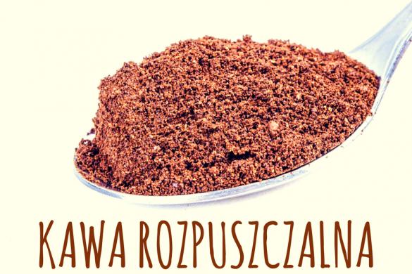 Kawa rozpuszczalna- historia i metody produkcji