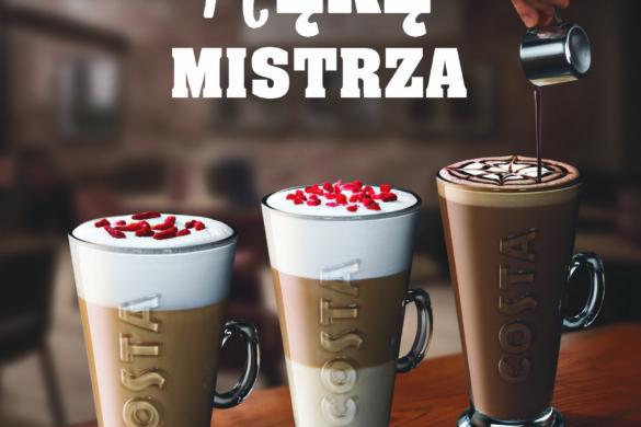 Wiosenny bukiet smaków w COSTA COFFEE